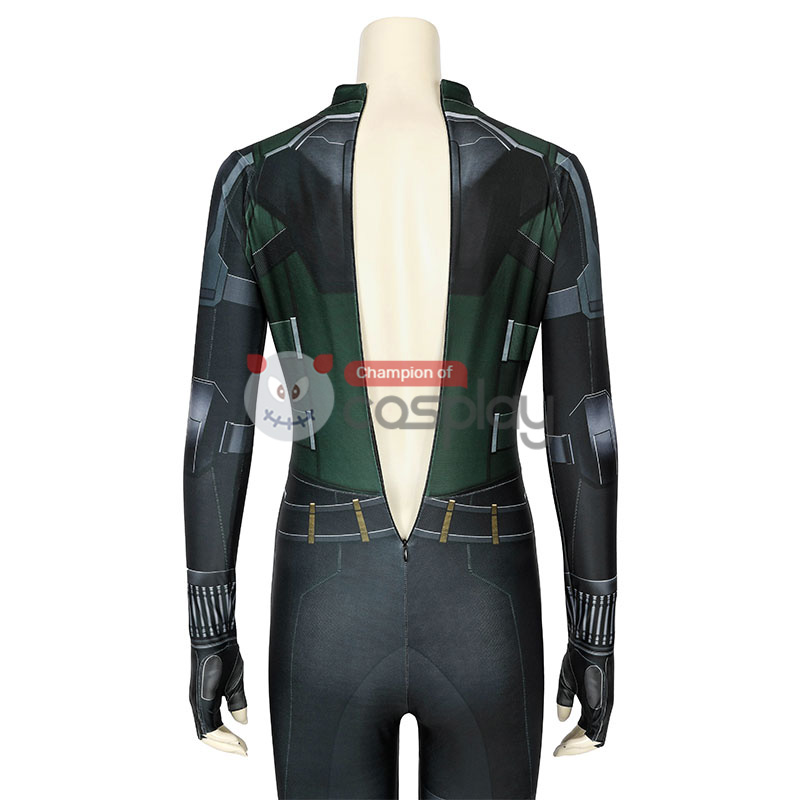 Avengers Infinity War Black Widow Costumes Natasha Romanoff Jumpsuit Cosplay Costume