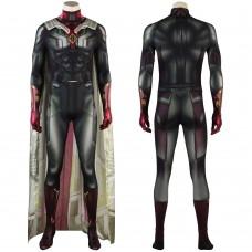 Vision Jumpsuit Wanda Vision Cosplay Costumes Simple Version