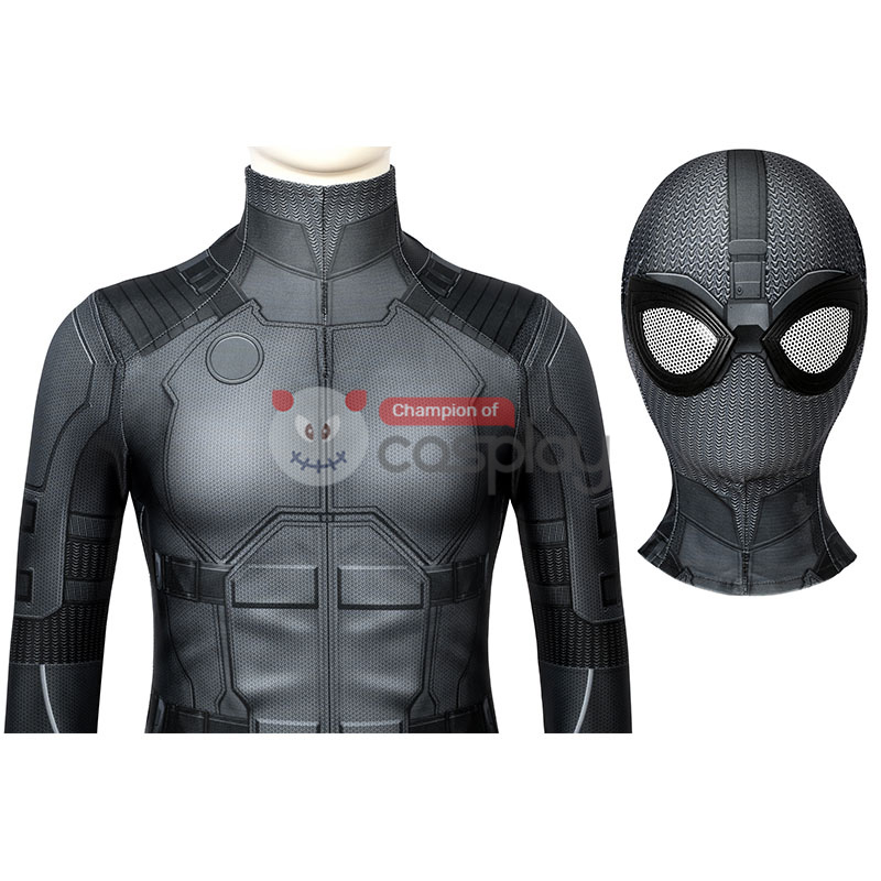 Spider Man Far From Home Peter Parker Night Monkey Cosplay Costume for Kids