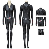 Adult Avengers Endgame Black Widow Jumpsuit Natasha Romanoff Cosplay Costume