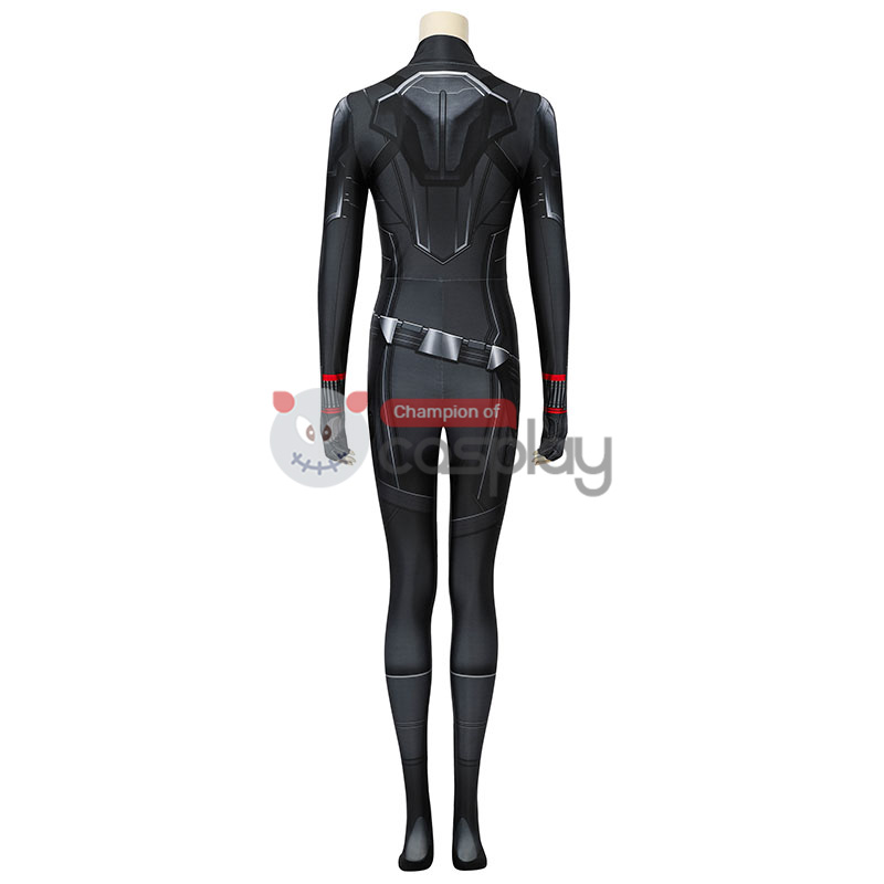 Adult Avengers Endgame Black Widow Jumpsuit Natasha Romanoff Cosplay Costume