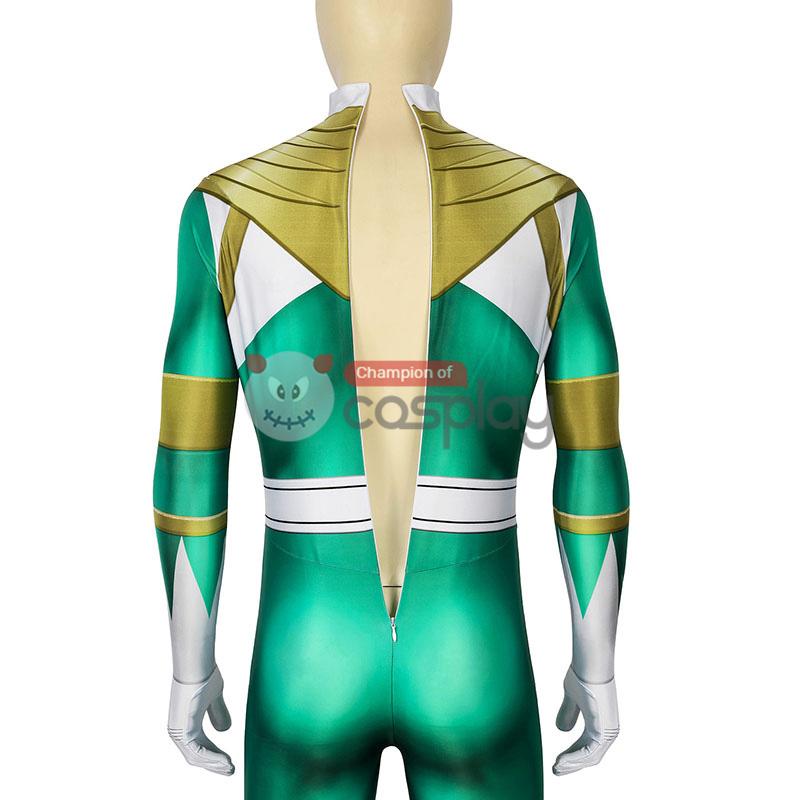 Mighty Morphin Power Rangers Burai Dragon Ranger Cosplay Costume
