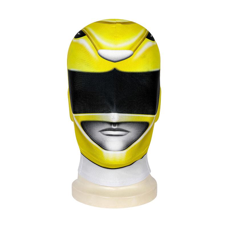Boy Tyranno Ranger Costume Yellow Mighty Morphin' Power Rangers Cosplay Costumes