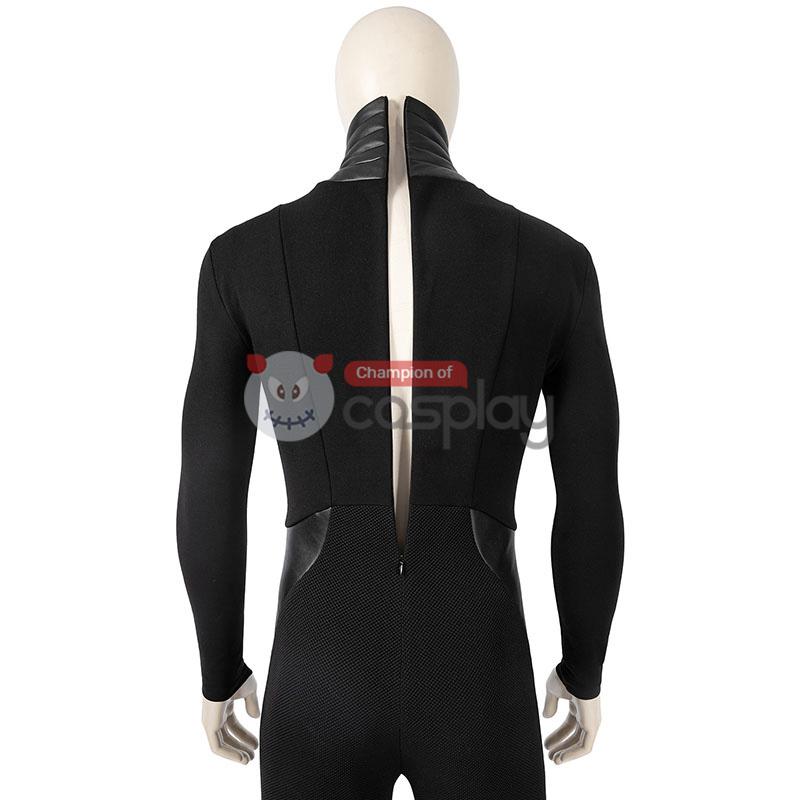 The Boys Season 2 Cosplay Costume Black Noir Suit