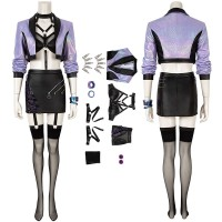 League Of Legends LOL 2020 S10 KDA All Out Evelynn Cosplay Costume
