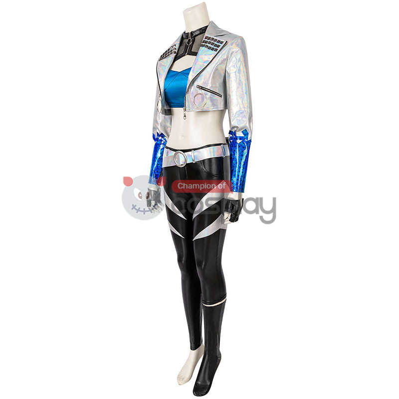 League Of Legends KDA 2020 S10 Cosplay Suit LOL Akali Costume