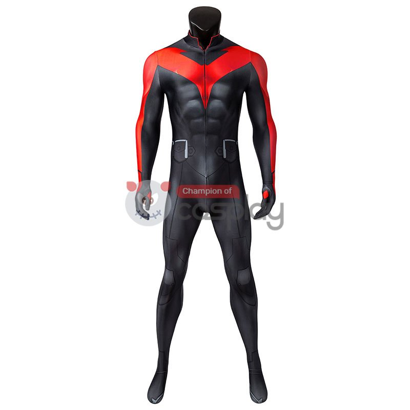Teen Titans The Judas Contract Cosplay Costume Nightwing Jumpsuit