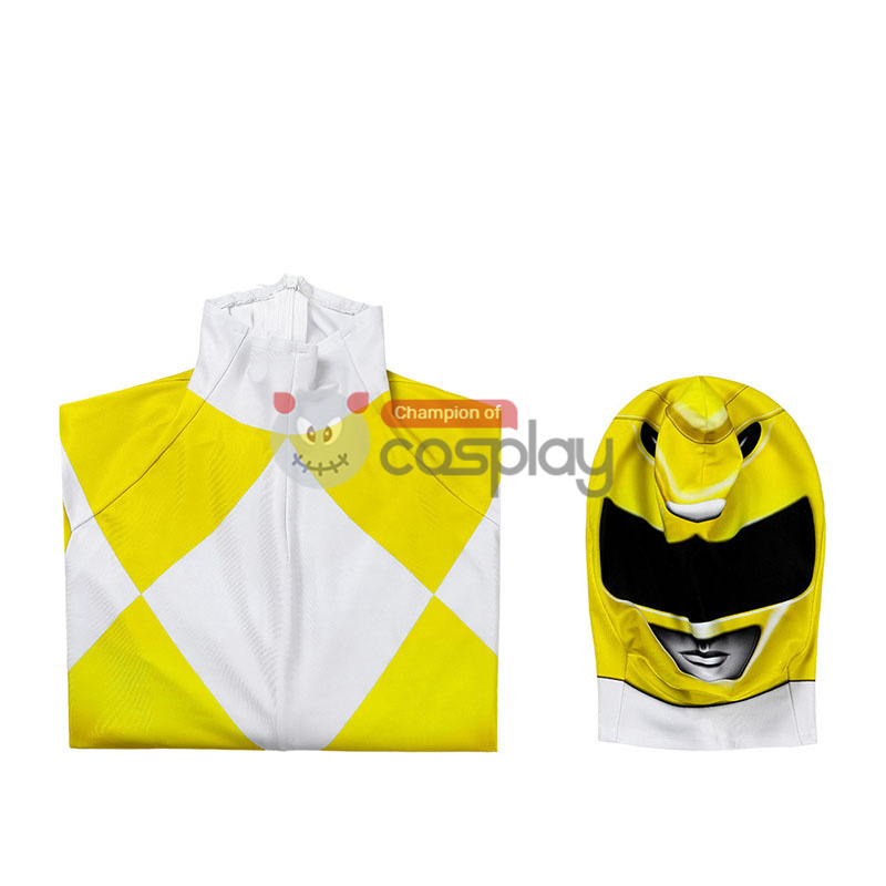 Ready To Ship for Kids Yellow Ranger Cosplay Costume