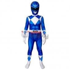 Ready To Ship for Kids Blue Ranger Cosplay Costume