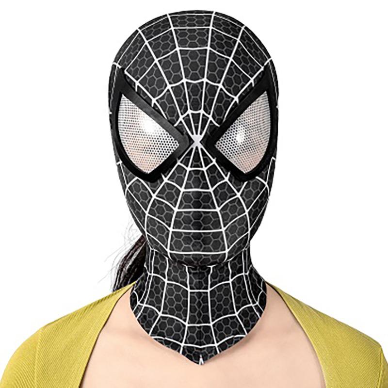 Spiderman Girls Jumpsuit Venom Spider Man Black Cat Woman Cosplay Costume