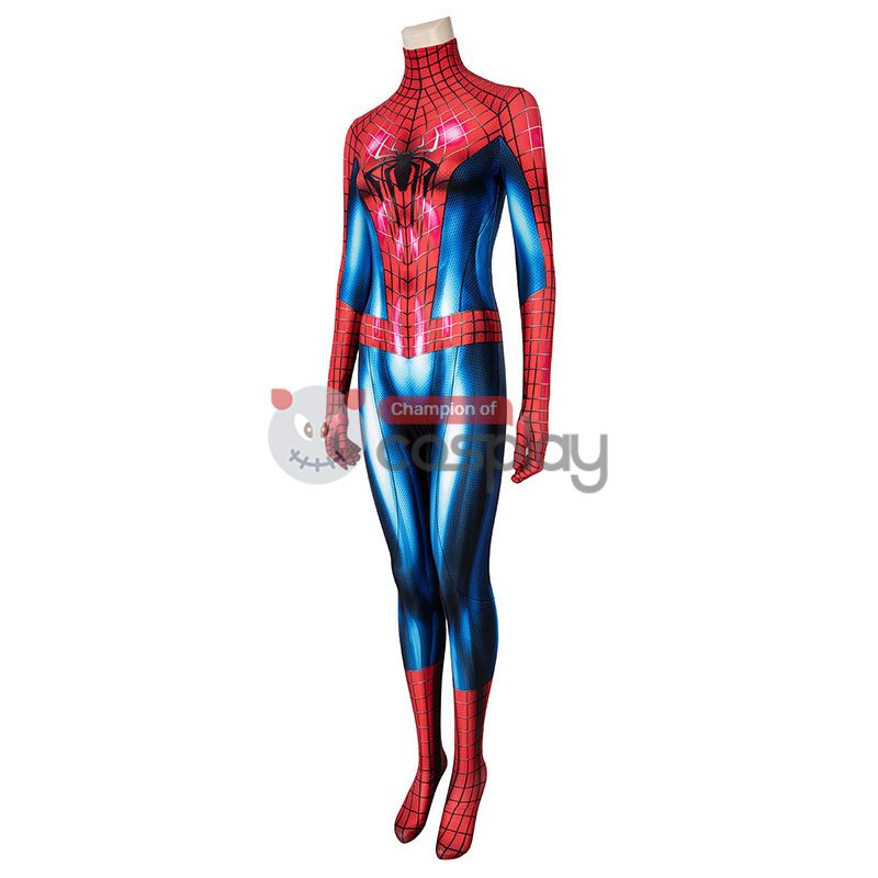 Female Spiderman Jumpsuit The Amazing Spider Man 2 Peter Parker Cosplay Costume