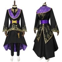 Twisted Wonderland Cosplay Suit Azul Summoning Robes Ashengrotto Costume