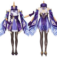 Genshin Impact Cosplay Suit Keqing Costume