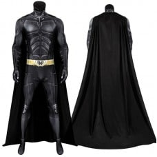 The Dark Knight Rises Bruce Wayne Cosplay Costume Batman Jumpsuit