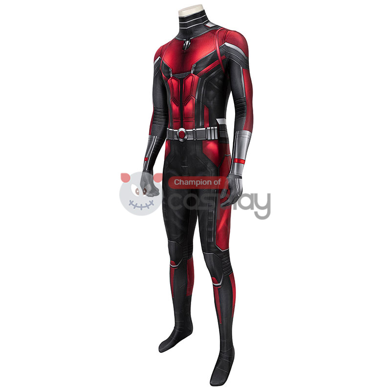 Ant-Man And The Wasp Scott Lang Cosplay Costume Ant Man Jumpsuit