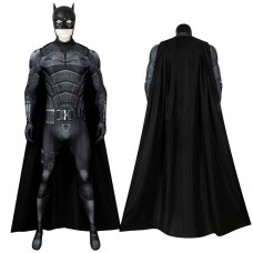The Batman 2021 Movie Jumpsuit Bruce Wayne Robert Pattinson Cosplay Costume