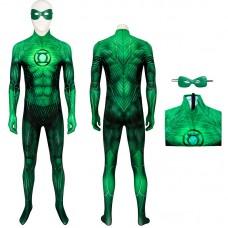 Green Lantern Cosplay Costume Hal Jordan Jumpsuit for Adult