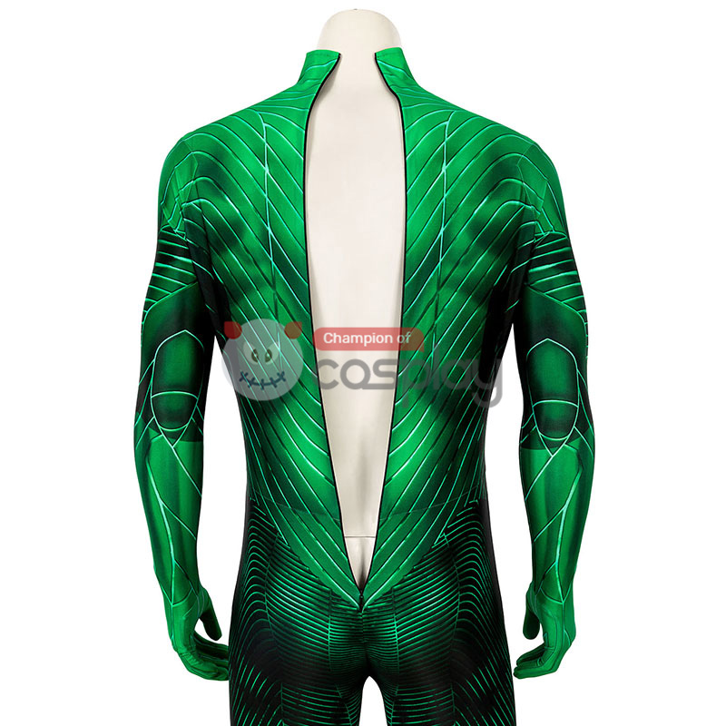 Green Lantern Cosplay Costume Hal Jordan Jumpsuit for Adult