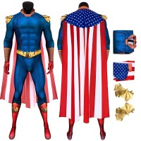 The Boys Cosplay Suit The Homelander Jumpsuit Costume for Adult