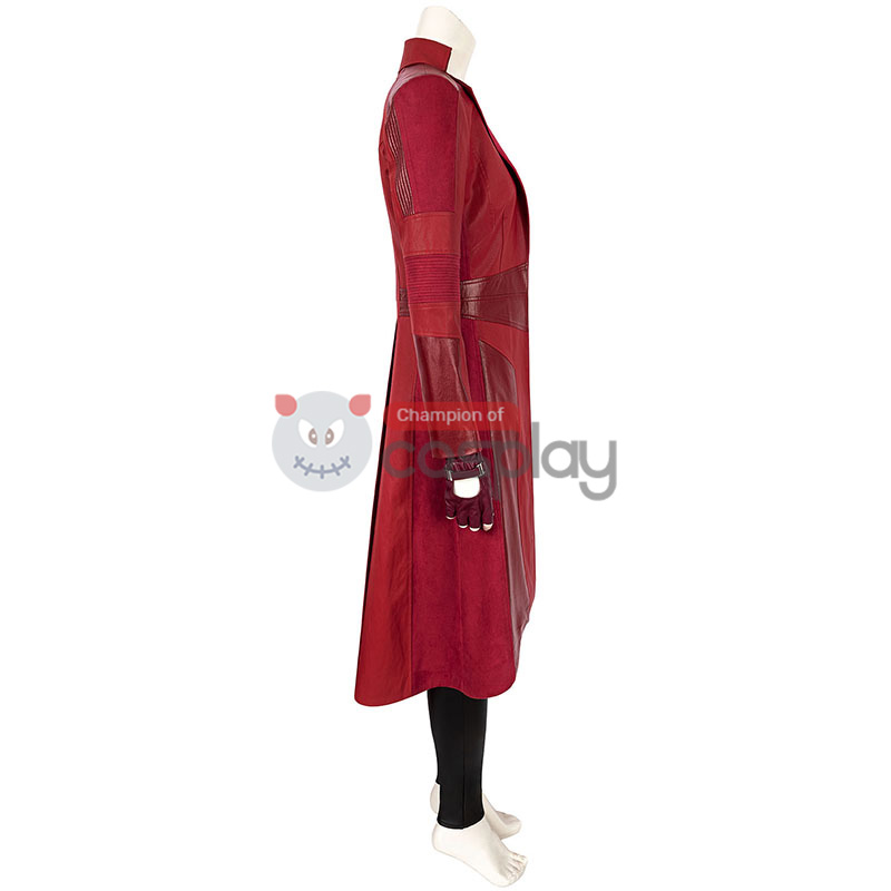 Captain America 3 Civil War Wanda Maximoff Cosplay Suit Scarlet Witch Costume