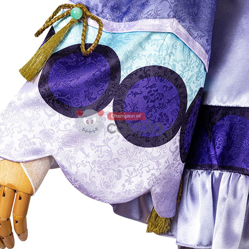 Genshin Impact Cosplay Suit Qiqi Costume Top Level