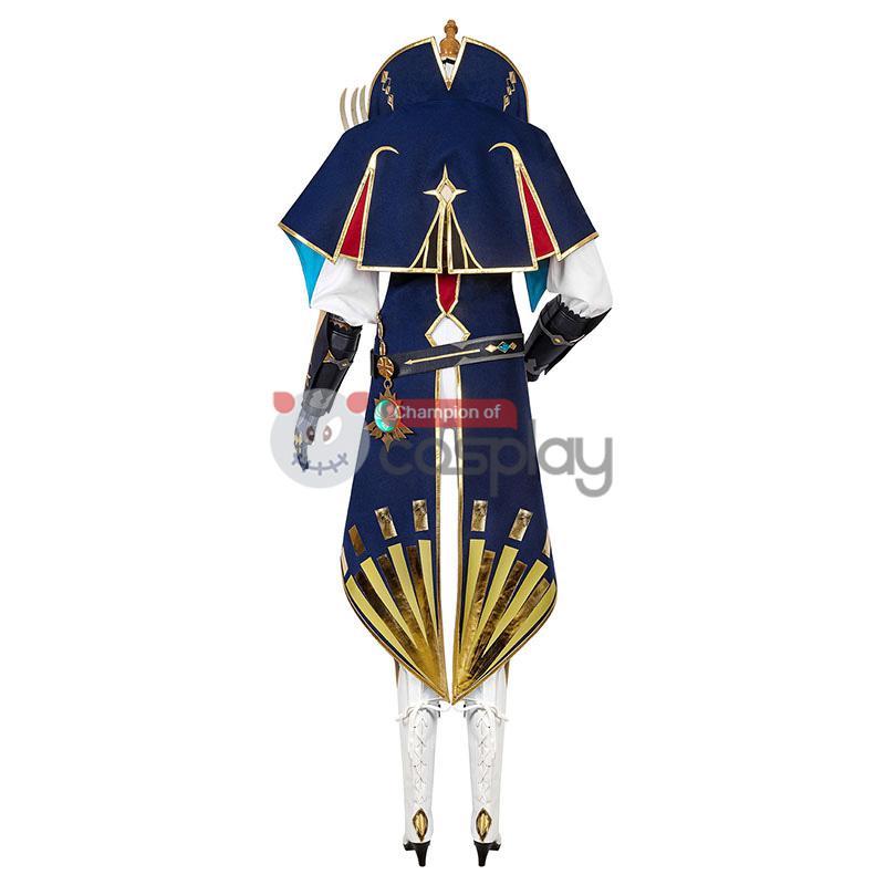 Genshin Impact Jean Gunnhildr Cosplay Costume
