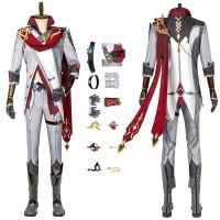 Genshin Impact Childe Cosplay Suit Tartaglia Costume