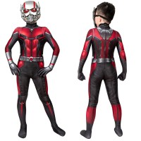 Kids Ant-Man and the Wasp Trailer Cosplay Costume Ant Man Jumpsuit