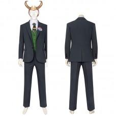 Loki Costume 2021 New Thor Ragnarok Loki Cosplay Suit