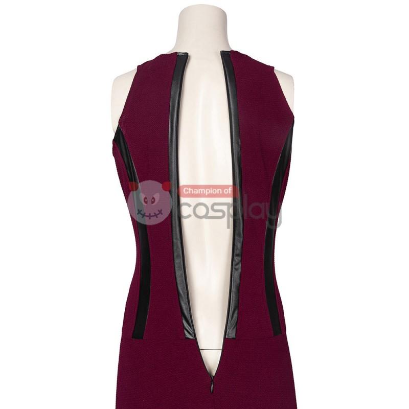 2021 Wanda Costume WandaVision New Cosplay Wanda Maximoff Scarlet Witch Suit