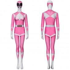 Pink Ranger Costume Mighty Morphin Power Rangers Cosplay Suit