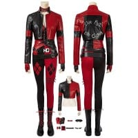 2021 Harley Quinn Costume New The Suicide Squad 2 Harley Quinn Cosplay Suit