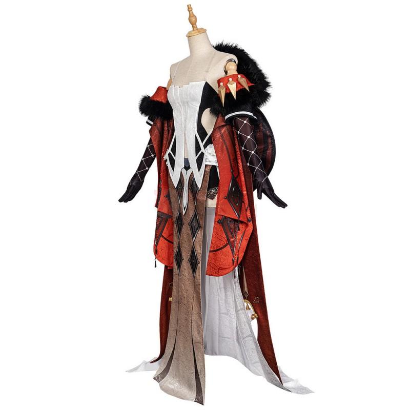 La Signora Costume Genshin Impact Cosplay Suit