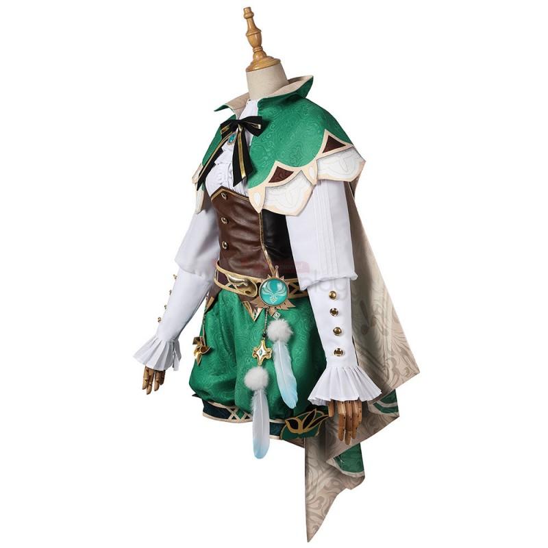 Venti Costume Genshin Impact Cosplay Suit