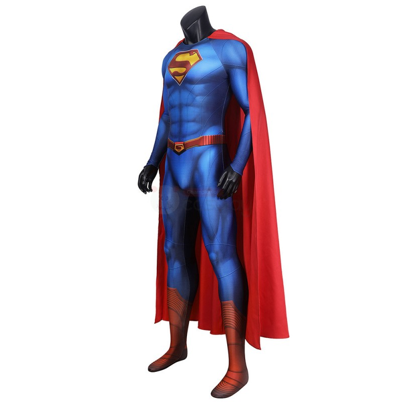 2021 Superman Costume New Superman and Lois Cosplay Suit