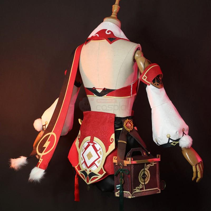 Yanfei Costume Genshin Impact Cosplay Suit