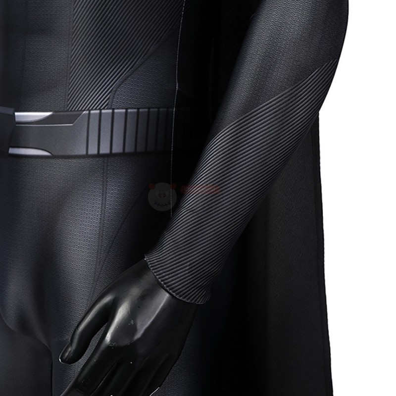 Superman Clark Kent Costume Crisis on Infinite Earths Superman Kal-El Black Cosplay Suit