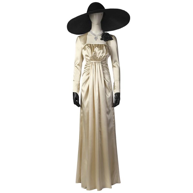 Resident Evil Village Lady Alcina Dimitrescu Cosplay Costume