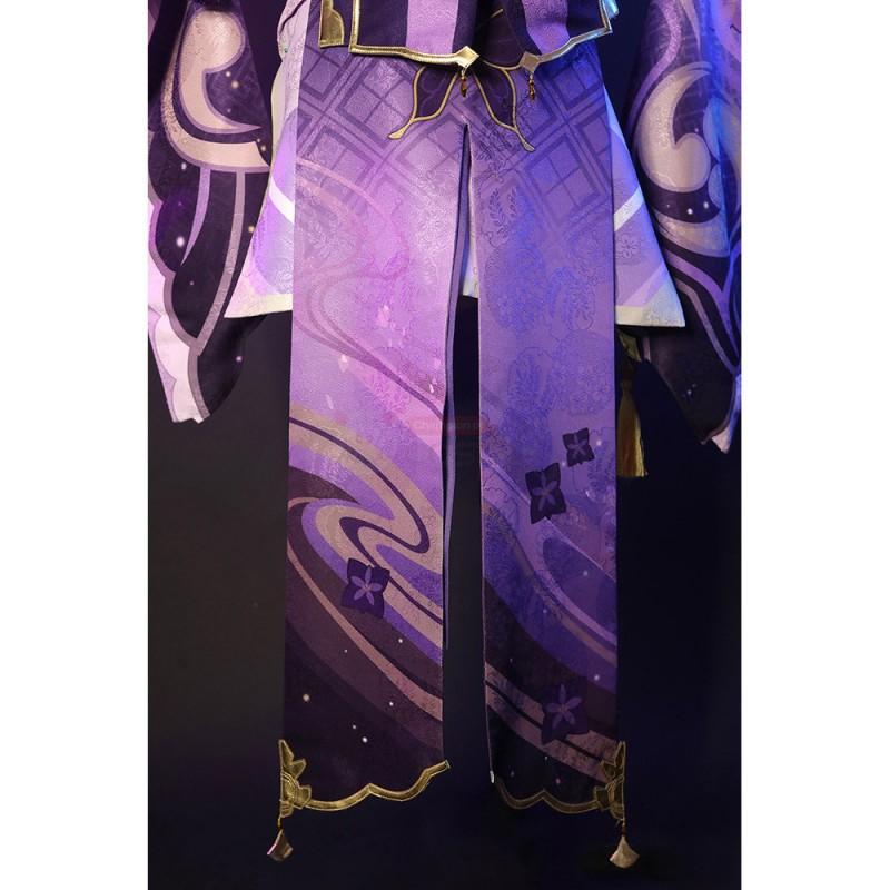 Baal Costume Genshin Impact Raiden Cosplay Suit