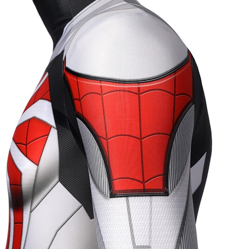 Spiderman Costume PS5 Remastered Cosplay New Armored Advanced Suit