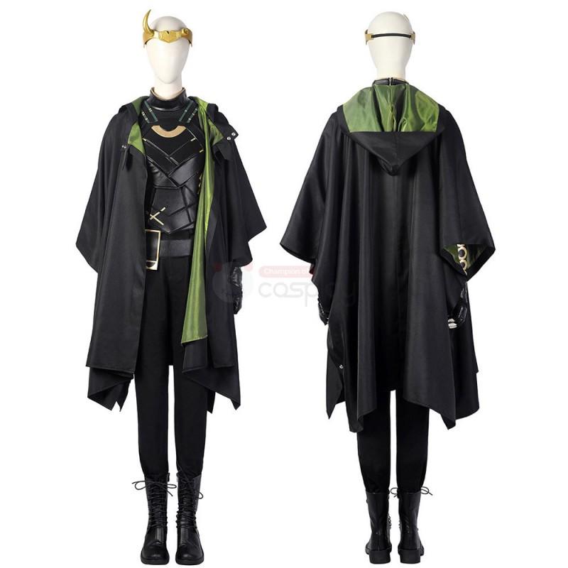 Ready To Ship Female Loki Cosplay Costume Sylvie Lushton Lady Loki Suit