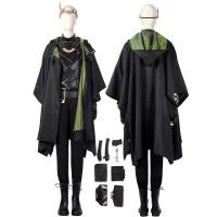 Female Loki Cosplay Costume Sylvie Lushton Lady Loki Suit