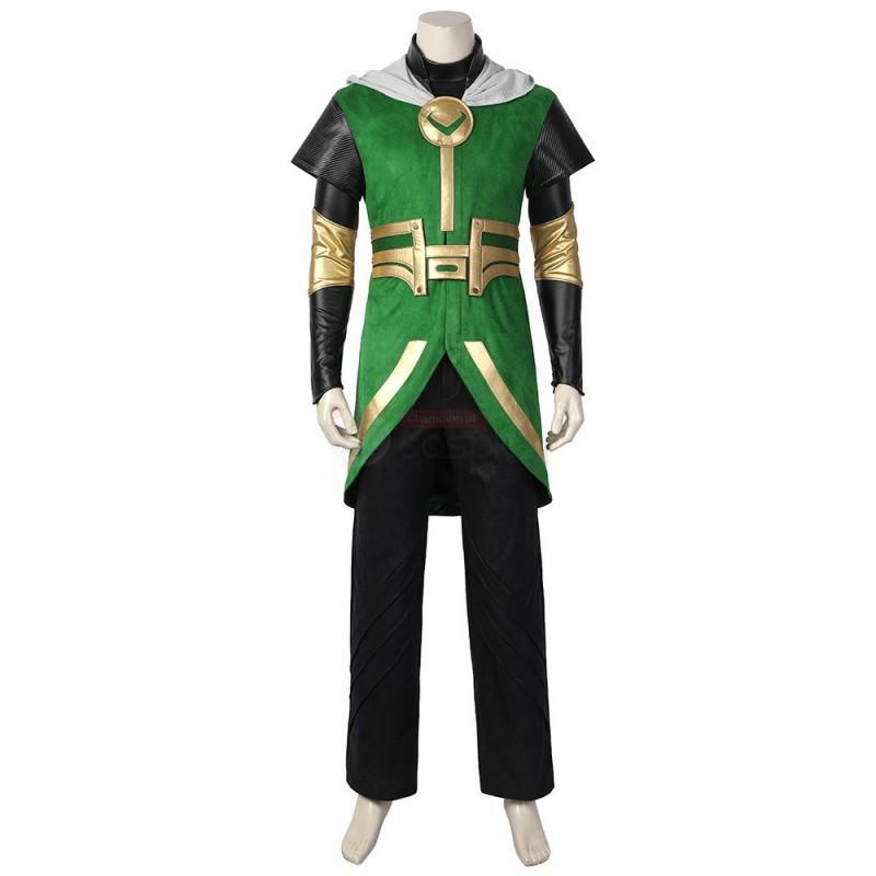 Kids Loki Costume 2021 Loki Laufeyson Cosplay Suit