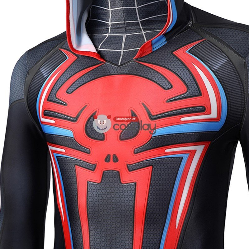 Spiderman Costume Spider-Man PS5 Miles Morales 2099 Cosplay Suit
