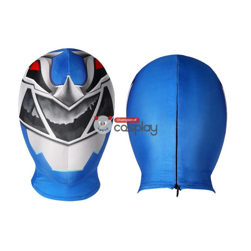 Blue Power Rangers Costume Kishiryu Sentai Ryusoulger Blue Solider Melto Cosplay Suit