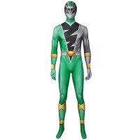 Power Rangers Green Costume Kishiryu Sentai Ryusoulger Green Solider Towa Cosplay Suit