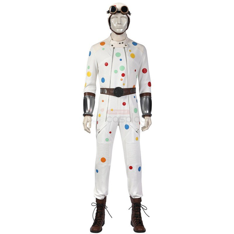 The Suicide Squad 2 Polka-Dot Man Cosplay Costume Outfit