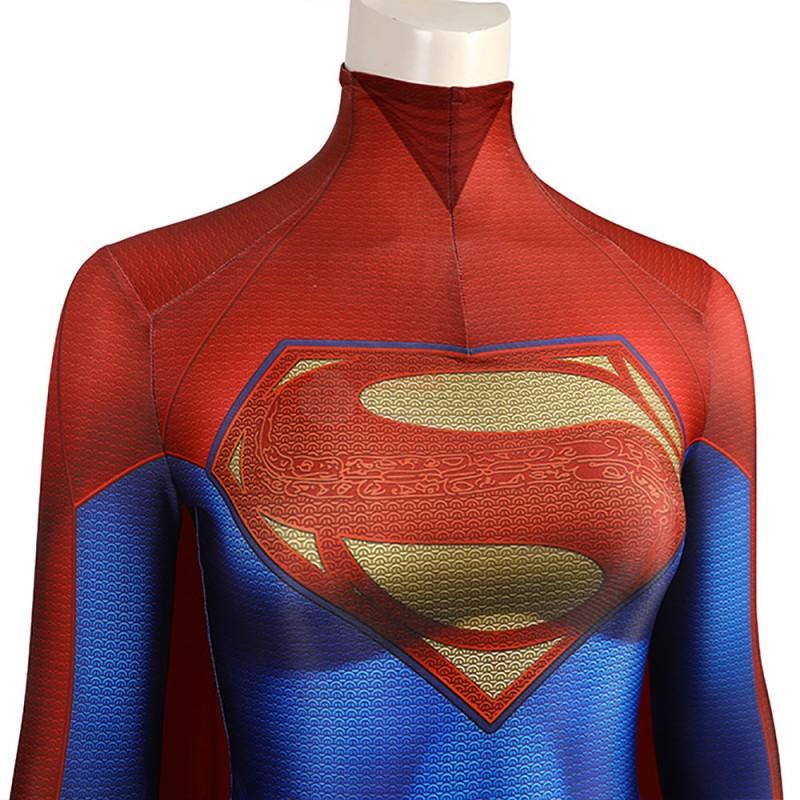 Flashpoint Supergirl Costume 2022 New The Flash Kara Zor-El Cosplay Suit