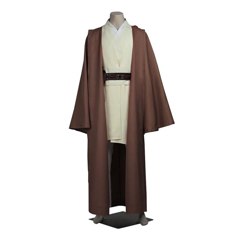 Star Wars Cosplay Costumes Jedi Knight Obi-Wan Kenobi Suit