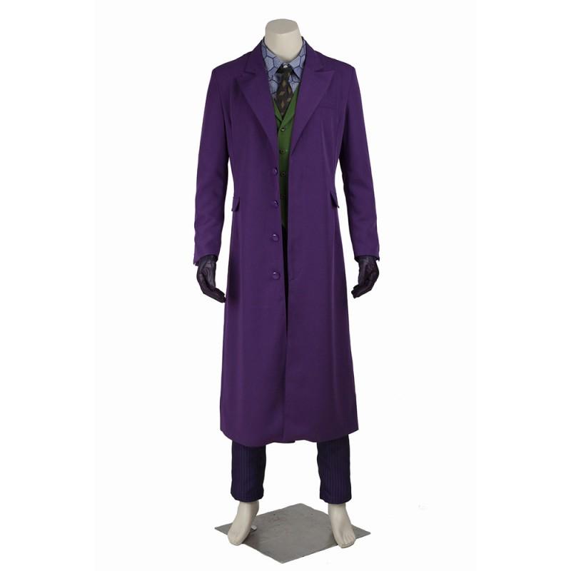 Joker Costumes Batman The Dark Knight Rises Cosplay Suits Improved Version